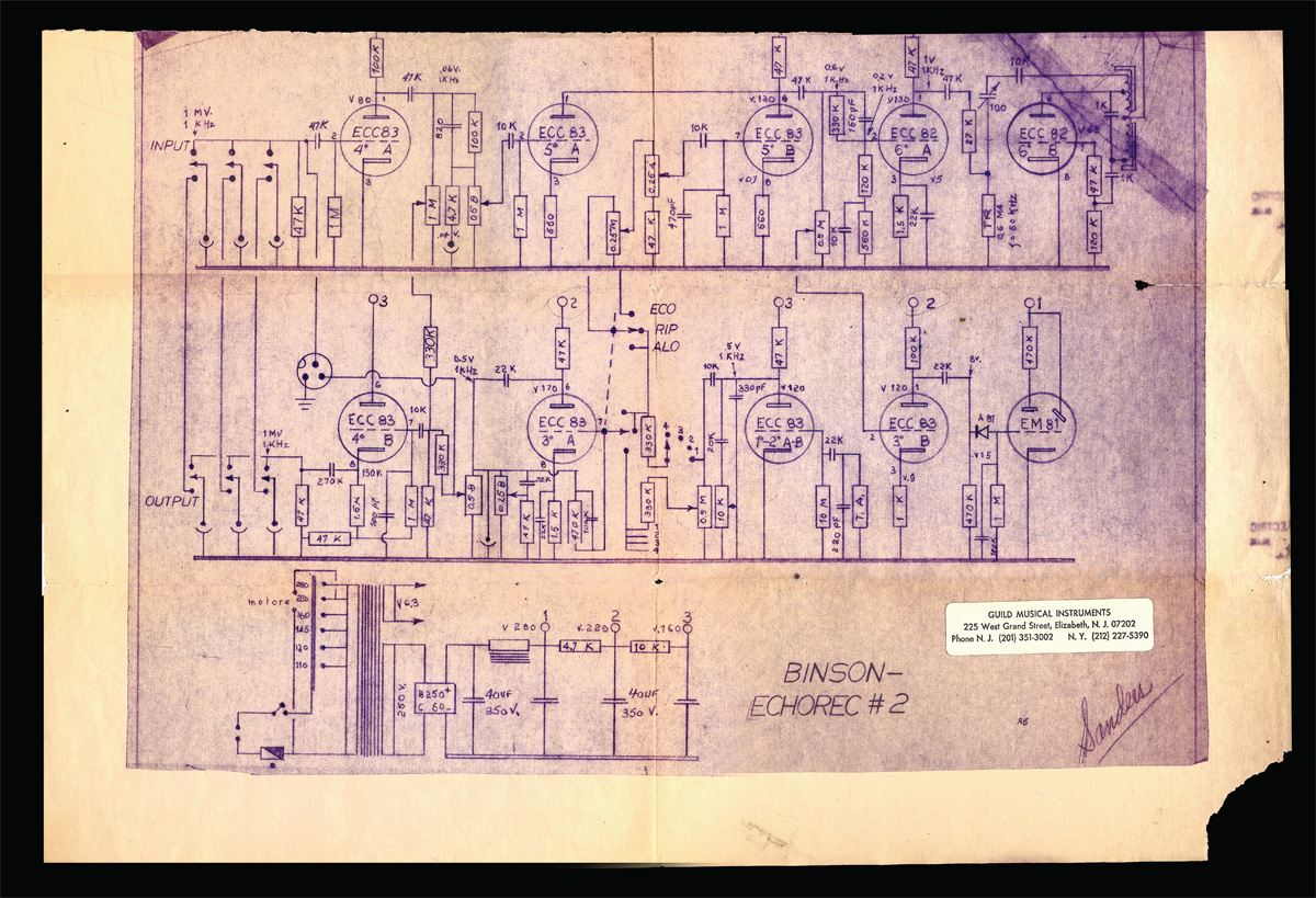 Antique Radio Forums View Topic Question On 1962 Binson 12ax7 Tube Wiring Diagram Image